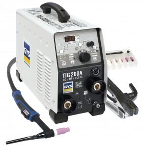 Заваръчен апарат GYS Gysmi TIG 200 DC HF, с аксесоари