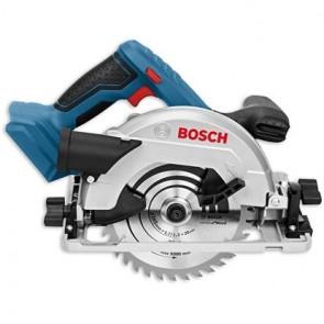 Акумулаторен ръчен циркуляр Bosch GKS 18V-57 Professional - без батерия и зарядното устройство
