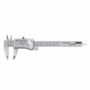 Дигитален двустранен шублер Fervi C033/150 - 0-150 мм, 0.01 мм/м