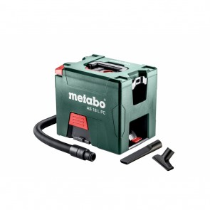 Акумулаторна прахосмукачка Metabo AS 18 L PC - 18 V, 2100 л/мин, 7.5 л