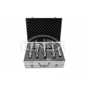 Дигитален триточков микрометър KINEX - set 6-12 mm, DIN 863, IP 54