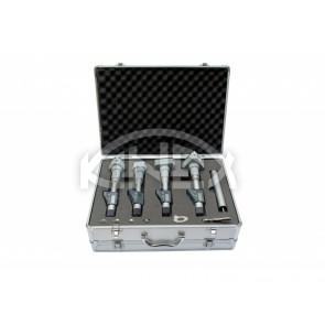 Дигитален триточков микрометър KINEX - set 50-100 mm, DIN 863, IP 54
