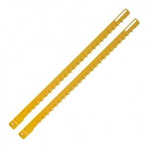 Нож за електрически трион за газобетон DeWALT DT2965 / 528х425мм, HM, 2бр