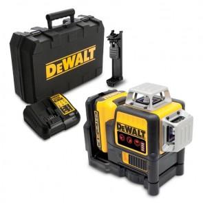 Линеен лазерен нивелир DeWALT DCE089D1R - 30.0 м, 0.3 мм/ 1 м - Червен
