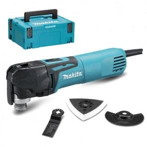 Мултифункционален инструмент Makita TM3010CX6J - 320 W, вибрации 6000-20000/минута