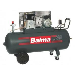 Бутален компресор Balma NS 19S/200 -  3 kW, 400V, 200, 10 bar, 476 l/min