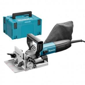 Нутфреза Makita PJ7000J - за сглобки тип бисквитки 701 W, 11000 оборота минута, 100 мм