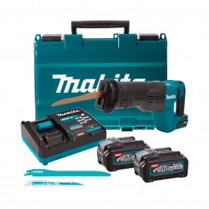 Акумулаторен саблен трион Makita JR001GM201 - 40 V, 4 Ah, 0-3000 хода/мин, 32 мм