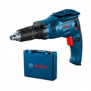 """Винтоверт за гипсокартон Bosch GTB 650 Professional, 1/4 """", 230 V, 650 W, 12 Nm, 6 мм, с куфар"""