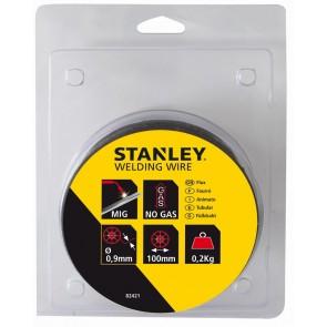 Заваръчна тел за телоподаващо устройство Stanley 82421 - 0.9 мм , 0.2 кг