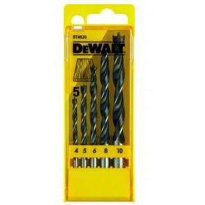 Комплект свредла за дърво комплект DeWALT DT4535 - 5 бр
