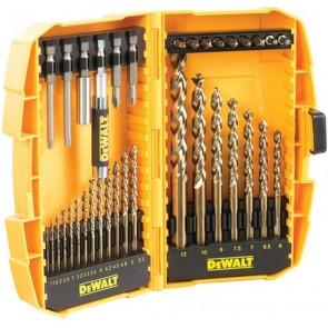 Комплект свредла за метал и накрайници и битове DeWALT DT7938B - 36 бр