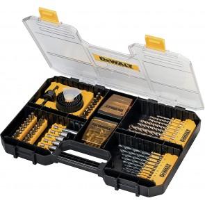 Комплект накрайници, битове и свредла DeWALT DT71569 - 100 части