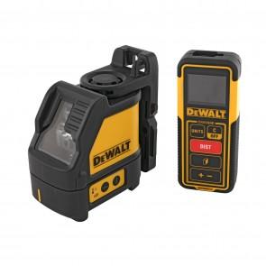 Линеен лазерен нивелир DeWALT DW0889CG - до 20 м, 0.3 мм/м