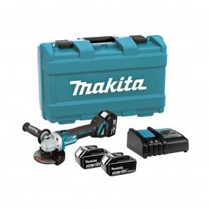 Акумулаторен ъглошлайф Makita DGA504RFE3 - 18 V, 3 Ah, 125 мм, 8500 об/мин