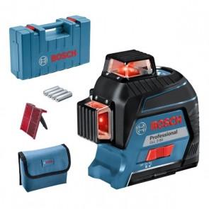Линеен лазерен нивелир Bosch GLL 3-80 / до 30м