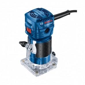 Фреза за кантове Bosch GKF 550 - 550 W, 33 000 об./мин, 6 мм