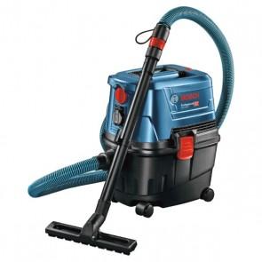 Прахосмукачка за сухо и мокро Bosch GAS 15 PS Professional / 1100W, 1980л/мин, 10л