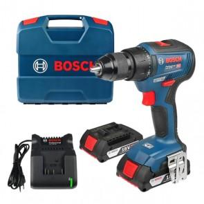 Акумулаторен винтоверт BOSCH GSR 18V-50 Professional - 18 V, 50 Nm, 2 x 2 Ah