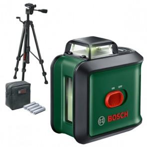 Лазерен нивелир (комплект) с 360° хоризонтална функция със зелен лъч Bosch Universal Level 360, 12 м, със статив + ПОДАРЪК Футболна топка