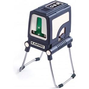 Линеен лазерен нивелир Kapro 872G Prolaser Plus Green - до 30 м, 0.2 мм/м