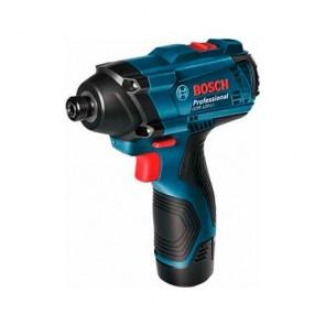 Акумулаторен ударен гайковерт Bosch GDR 120-LI / 100 Nm ,12 V Li-ion , 1.5 Ah , 2 батерии, зарядно и куфар