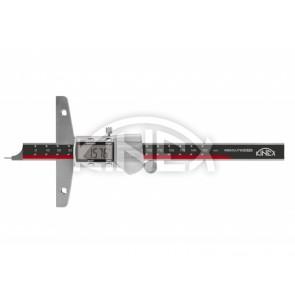 Дигитален дълбокомер със кръгла пета KINEX 150 mm, 0,01 mm