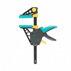 Стяга дърводелска с пластмасови челюсти автоматична Wolfcraft EHZ PRO, 300/100 мм