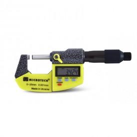 Дигитален микрометър Microtech, IP-54, 0-25 mm, 0,001 mm