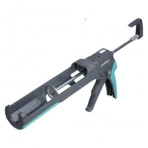 Пистолет за силикон, лепила и уплътнители за картуш метален 310 мл Wolfcraft MG 400 Ergo