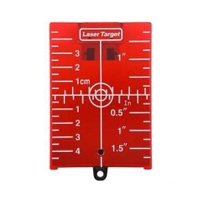 Червена магнитна мишена за лазерен нивелир SOLA ZS RED