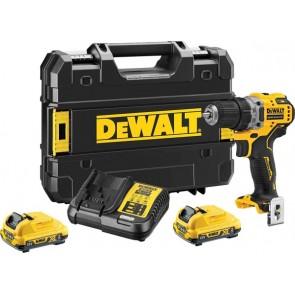 Акумулаторен винтоверт DEWALT DCD701D2 12 V, 2 Ah, 0-425, 0-1400 об / мин, 57.5 Nm