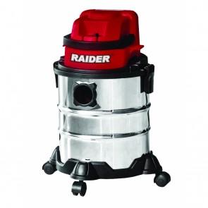 Акумулаторна прахосмукачка за сухо и мокро почистване Raider RDP-SDWC20 / 20 V, 2 Ah, 15 л