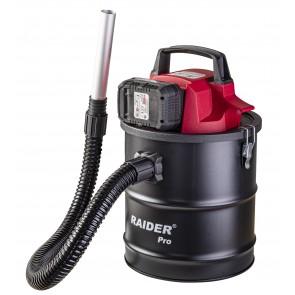 Акумулаторна прахосмукачка за пепел Raider RDP-SWC20 / 20 V, без батерии и зарядно устройство