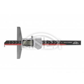 Дигитален дълбокомер Kinex с пета ABZ Design - 200 mm, 0.01mm, DIN 862