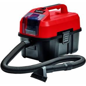Акумулаторна прахосмукачка за сухо и мокро почистване Einhell TE-VC 18/10 Li Solo Power X-Change / 18 V, 90 мбара, без батерии и зарядно устройство