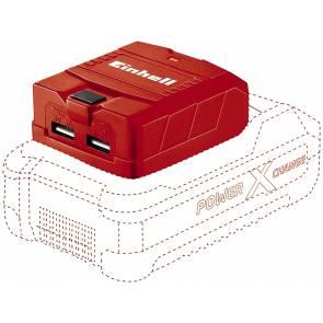 USB адаптер Einhell Power X-Change TE-CP 18 Li - Solo / 18V, без батерии и зарядно устойство
