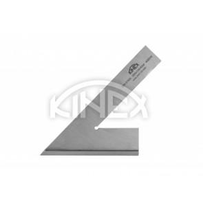 Плосък ъгъл KINEX 45 °, 20x5 mm / 120 x 80 mm - с пета