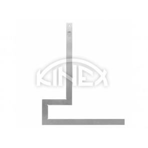 Фланец квадрат KINEX 300x300 / 65x115 мм