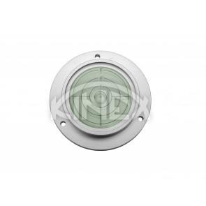 Кръгъл нивелир KINEX с отвори за монтаж +/- 5 ° D100 / 75x20 mm - Silver