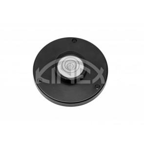 Кръгъл нивелир KINEX с отвори за монтаж D35 - Black