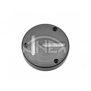 Кръгъл нивелир KINEX с отвори за монтаж D80 - Black