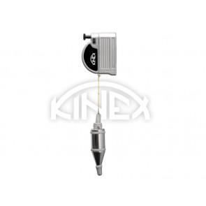 Зидарски отвес KINEX с магнитен държач - 6м