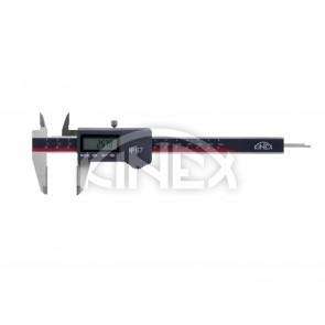 Влагоустойчив дигитален шублер KINEX ABSOLUTE ZERO 150/40 mm, DIN 862, IP 67 - WC