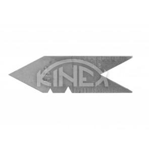 Шаблон за измерване на резби KINEX 55 °