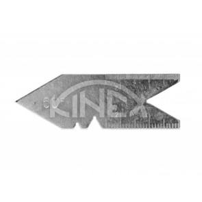 Шаблон за измерване на резби KINEX 60 °