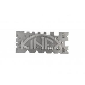 Шаблон за измерване на резба KINEX универсален