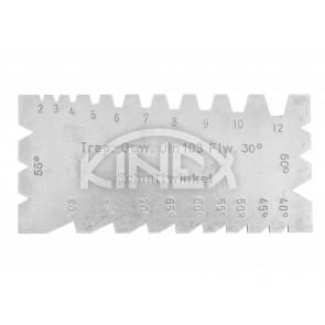 Шаблон за измерване ъглите на стругарски ножове KINEX