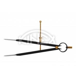 Пергел шлосерски KINEX BLACK COAT 10-300 / 200 мм, CSN 25 5170