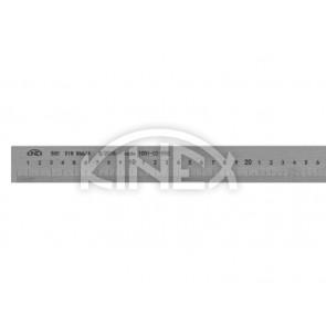 Линийка от неръждаема стомана KINEX 1000 мм, DIN 866/A